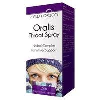 New Horizon Oralis Throat Spray 15ml