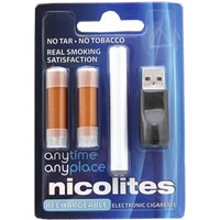 Nicolites Rechargeable Electronic Cigarette