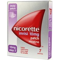 Nicorette Invisi Patch Step 3 - 10mg 7 patches