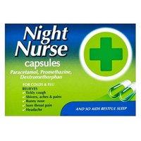 Night Nurse Capsules 10 capsules