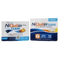 Niquitin Clear Patches 21mg - Step 1 7 patches