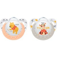 Nuk Disney Winnie The Pooh Silicone Soother (0-6m)