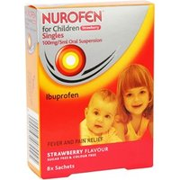Nurofen For Children Strawberry Oral Suspension Sachets 8 sachets