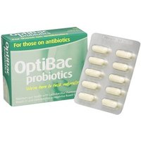 Optibac Probiotics For Those on Antibiotics 10 Caps