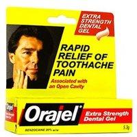 Orajel Dental Gel Extra Strength 5.3g