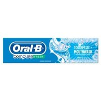 Oral-B Complete Fresh Mouthwash + Toothpaste 75ml