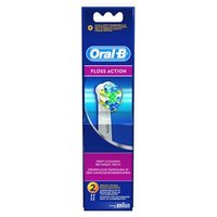 Oral-B FlossAction Replacement Brush Heads pack of 4