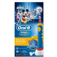 Oral-B Stages Power Kids Electric Toothbrush with Music Timer - Mickey Mouse