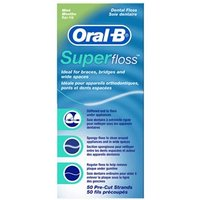 Oral-B Super Floss 50 Pre-cut strands