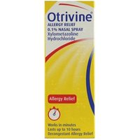 Otrivine Allergy Relief 0.1% Nasal Spray 10ml