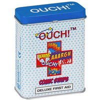 Ouch! Deluxe First Aid Comic Strips Plasters 24 plasters