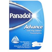 Panadol Advance Compack 500mg 16 tablets