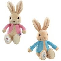 Peter & Flopsy Rabbit Rattles Peter Rabbit-Blue