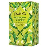 Pukka Lemongrass  & Ginger Tea 20 Teabags