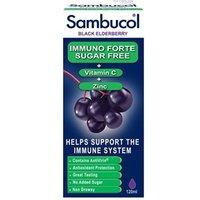 Sambucol Black Elderberry Immuno Forte Sugar Free Liquid 120ml