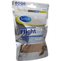 Scholl Flight Socks Sheer 6.5-8/ Natural 1 pair