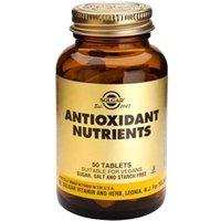 Solgar Antioxidant Nutrients Tablets 100 Tablets