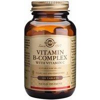 Solgar Vitamin B-Complex with Vitamin C Tablets 250 tablets