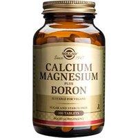Solgar Calcium Magnesium plus Boron Tablets 100 tablets