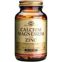 Solgar Calcium Magnesium plus Zinc Tablets 100 tablets
