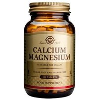 Solgar Calcium Magnesium Tablets 100 tablets