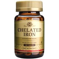Solgar Chelated Iron Tablets 100 tablets