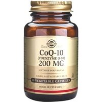 Solgar Coenzyme Q-10 200 mg Vegetable Capsules 30 vegicaps