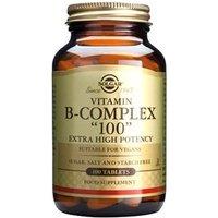 """Solgar Formula Vitamin B-Complex """"100"""" Tablets 100 tablets"""