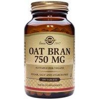 Solgar Oat Bran 750 mg Tablets 100 tablets