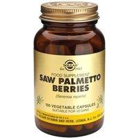 Solgar Saw Palmetto Berries Vegetable Capsules 100 Veg Caps