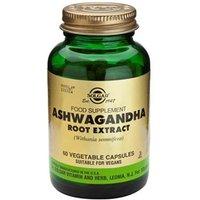 Solgar Ashwagandha Root Extract Vegetable Capsules 60 Vegicaps
