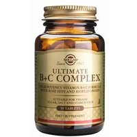 Solgar Ultimate B+C Complex Tablets 60 Tablets