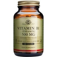 Solgar Vitamin B1 500 mg (Thiamin) Tablets 100 tablets