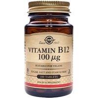 Solgar Vitamin B12 100 µg Tablets 100 tablets