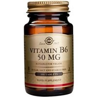 Solgar Vitamin B6 50 mg Tablets 100 tablets