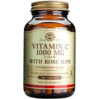 Solgar Vitamin C 1000 mg with Rose Hips Tablets 100 tablets