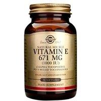 Solgar Vitamin E 671mg (1000iu) Softgels 100 softgels
