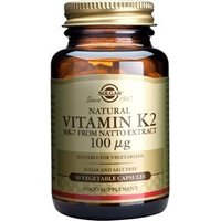 Solgar Vitamin K2 100 µg Vegetable Capsules 50 vegicaps