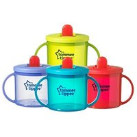 Tommee Tippee Essentials Free Flow  First Cup (4m+) 190ml Red