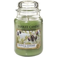 Yankee Candle Housewarmer Olive & Thyme Jar Medium