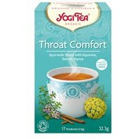 Yogi Tea Organic Throat Comfort Tea 17 Teabags