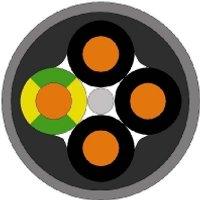 18020099 T500  - ÖLFLEX SMART 108 2x0,75 18020099 T500