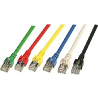 EC5000 0,15mgrSF/UTP  - Patchkabel Cat.5e 2xRJ45 mit SF/UTP EC5000 0,15mgrSF/UTP