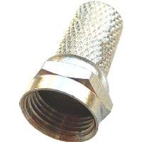 F104Lose  - F-Stecker 7,2 mm, schraubbar F104Lose