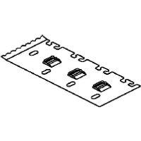 LZTP 100  - Trennstegbefestig.-platte B=99,Stahl S LZTP 100