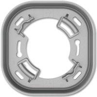 6131/38-183  - Zwischenring alu/si f.VDE-UP-Dose KNX 6131/38-183