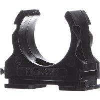 clipfix-UV 25 sw  - Kunststoff-Klemmschelle UV-stabilisiert clipfix-UV 25 sw