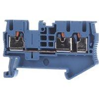 PT 2,5-TWIN BU  - Durchgangsreihenklemme 0,14-4qmm, 5,2mm, bl PT 2,5-TWIN BU