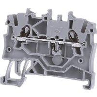 2000-1201  - 2L-Durchgangsklemme 1qmm grau TopJob 2000-1201
