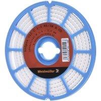 CLI C 1-3 WS/SW A CD  - Leitermarkierer 3x4,2mm,weich,weiß CLI C 1-3 WS/SW A CD